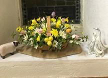 Magherahamlet Easter 2021 Window 3